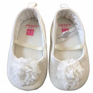 Carters girls Baby Crib Shoes